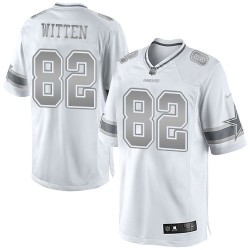 ... italy dallas cowboys jason witten official nike white elite adult  platinum nfl jersey women new nike ... 4abd6c5ab