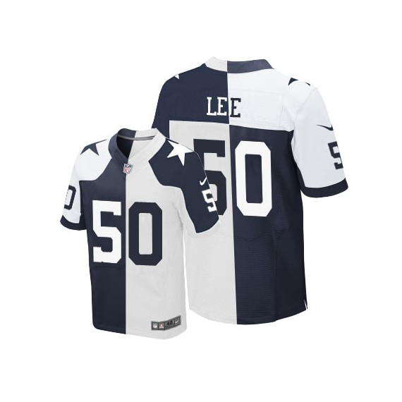 buy online 82570 9506e Dallas Cowboys Sean Lee Official Nike Two Tone Elite Adult  Throwback/Throwback NFL Jersey