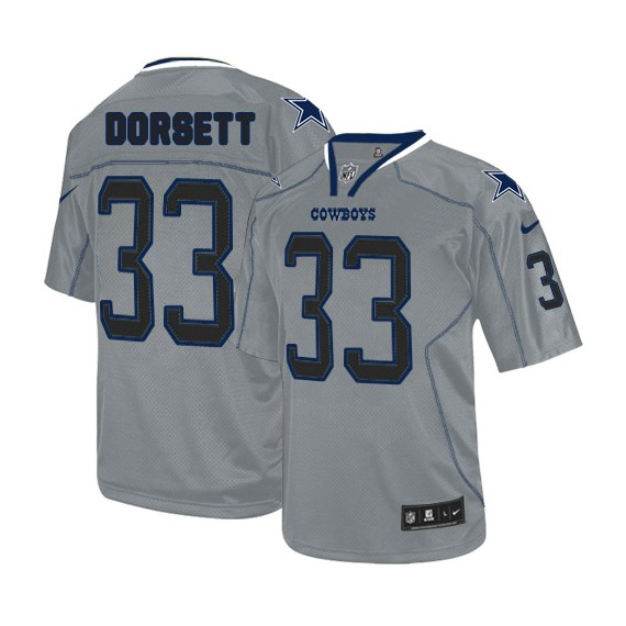 buy online dff9a f1ab1 Dallas Cowboys Tony Dorsett Official Nike Lights Out Grey Limited Adult NFL  Jersey