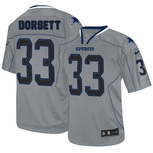 buy online fddc6 07479 Dallas Cowboys Tony Dorsett Official Nike Lights Out Grey Limited Adult NFL  Jersey