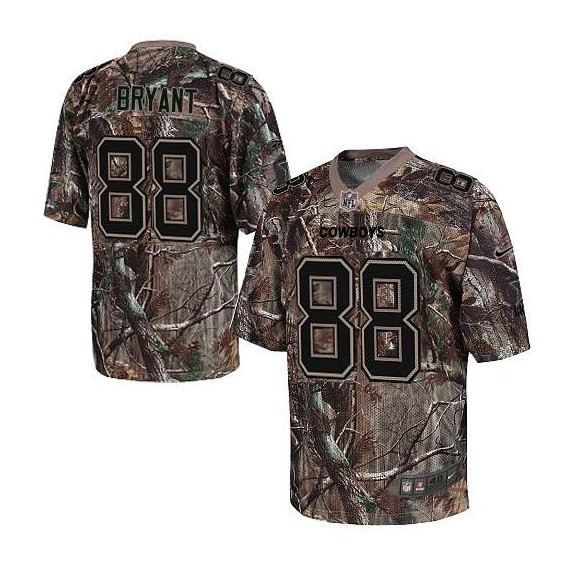 Dallas Cowboys Dez Bryant Official Nike Camo Elite Adult Realtree NFL Jersey 6ee8fa17b